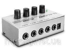 Leory MX400 профессиональный 4 канальный аудио микшер