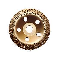 Шлифовально-обдирочный чашечный диск 125х22 мм. с твердосплавной напайкой №2 конический