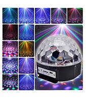 Диско шар Magic Ball LED (MP3 плеером/Usb флешкой/Пульт), фото 1