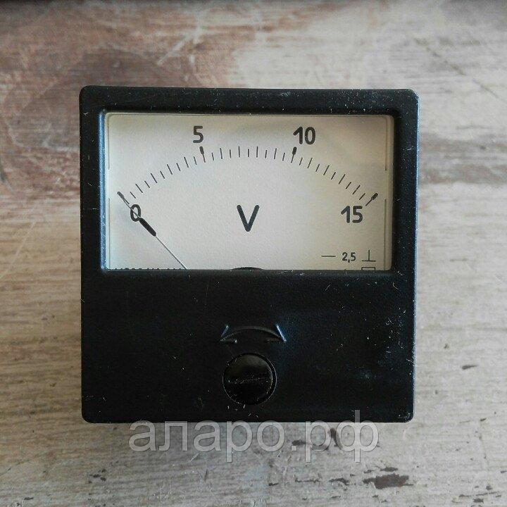 Вольтметр М2001 0-15В
