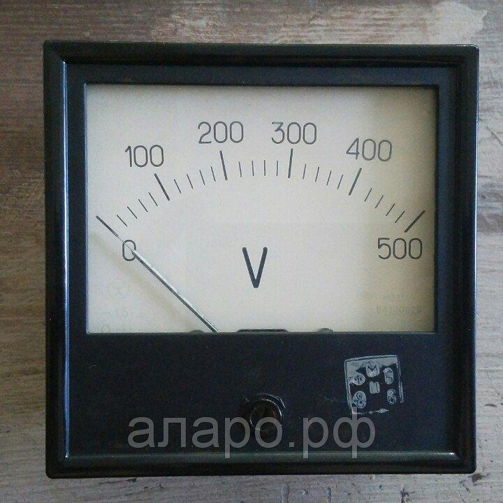 Вольтметр М381 0-500В