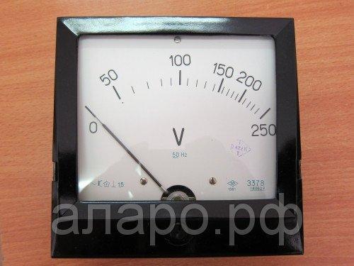 Вольтметр Э378 130В