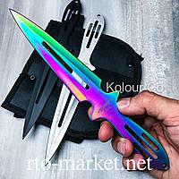 Ножи метательные(color) комплект 3 в 1