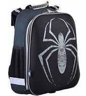 """Рюкзак каркасный, школьный Spider, """"1 Вересня"""" 38*29*15 H-12"""