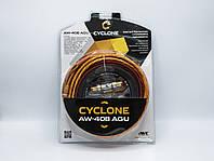 Набор для подключения 4-х канального усилителя Cyclone AW-408 AGU