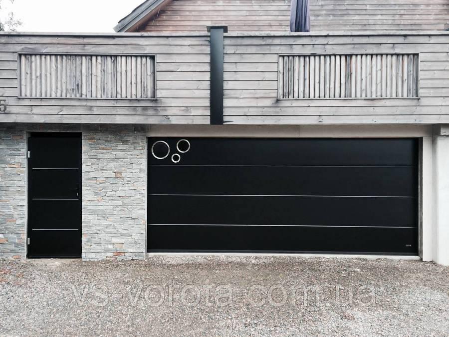 Ворота RYTERNA R40 размер 2500х2300 мм секционные гаражные