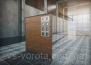 Ворота RYTERNA R40 размер 2700х2000 мм секционные гаражные