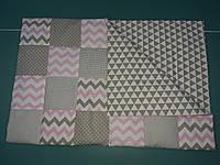 Покрывало-одеяло пэчворк  для новорожденных, фото 1