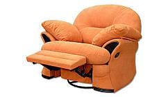 Кресло -реклайнер Рокко, мягкое, классика. Под заказ