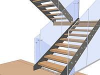 Проработки при проектировании лестницы