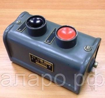 Кнопка КУ122-2в3 440/380в 16а