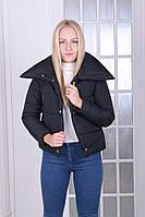 Куртка пуховик зима на кнопках и молнии