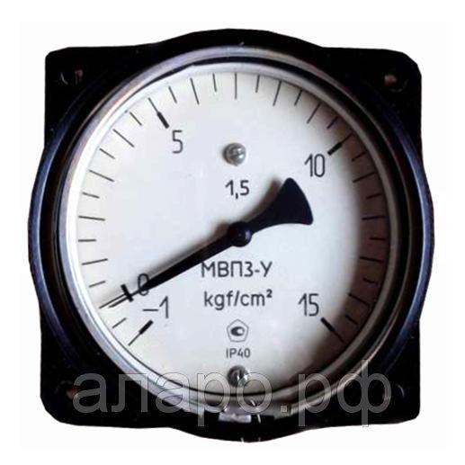 Манометр МВП-3У -1-0-3 кгс/см2