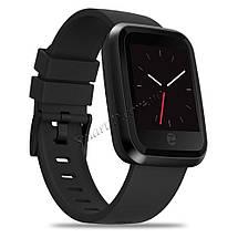 Смарт-часы Zeblaze Crystal 2 с цветным 1,29 дюймовым IPS LCD экраном (Черные), фото 3