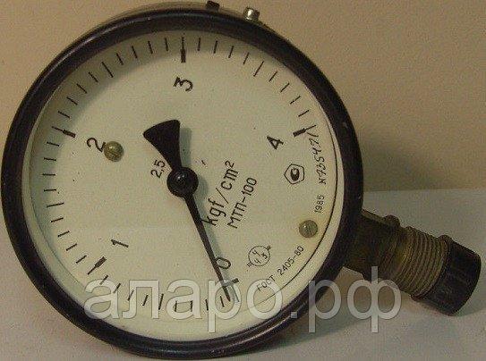 Манометр МТП-1 60 кгс/см2