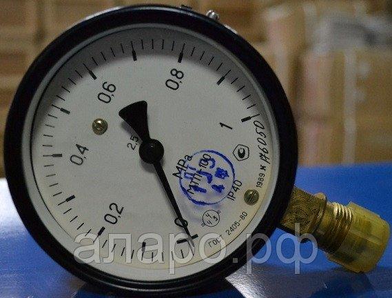 Манометр МТП-100 600 кгс/см2