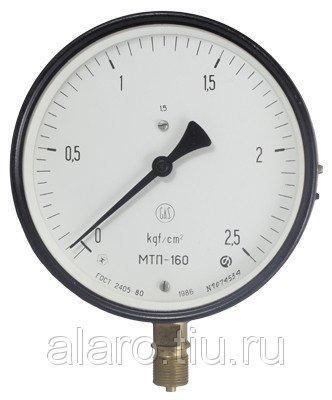 Манометр МТП-160 0-6 кгс/см