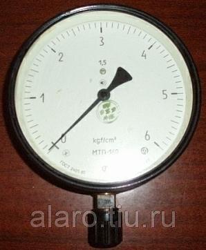 Манометр МТП-160 250 кгс/см2