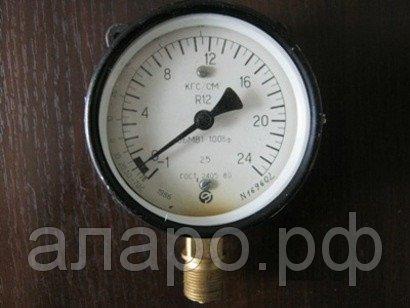 Манометр ОБМВ1-100Бф -1-0-15 кгс/см2