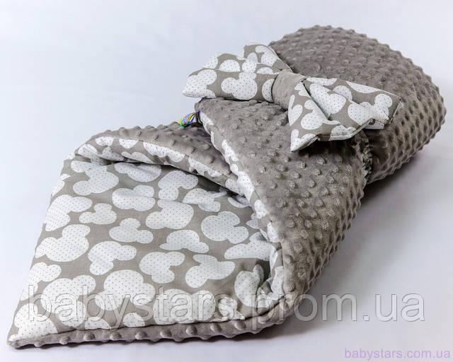 Плюшевый конверт-одеяло