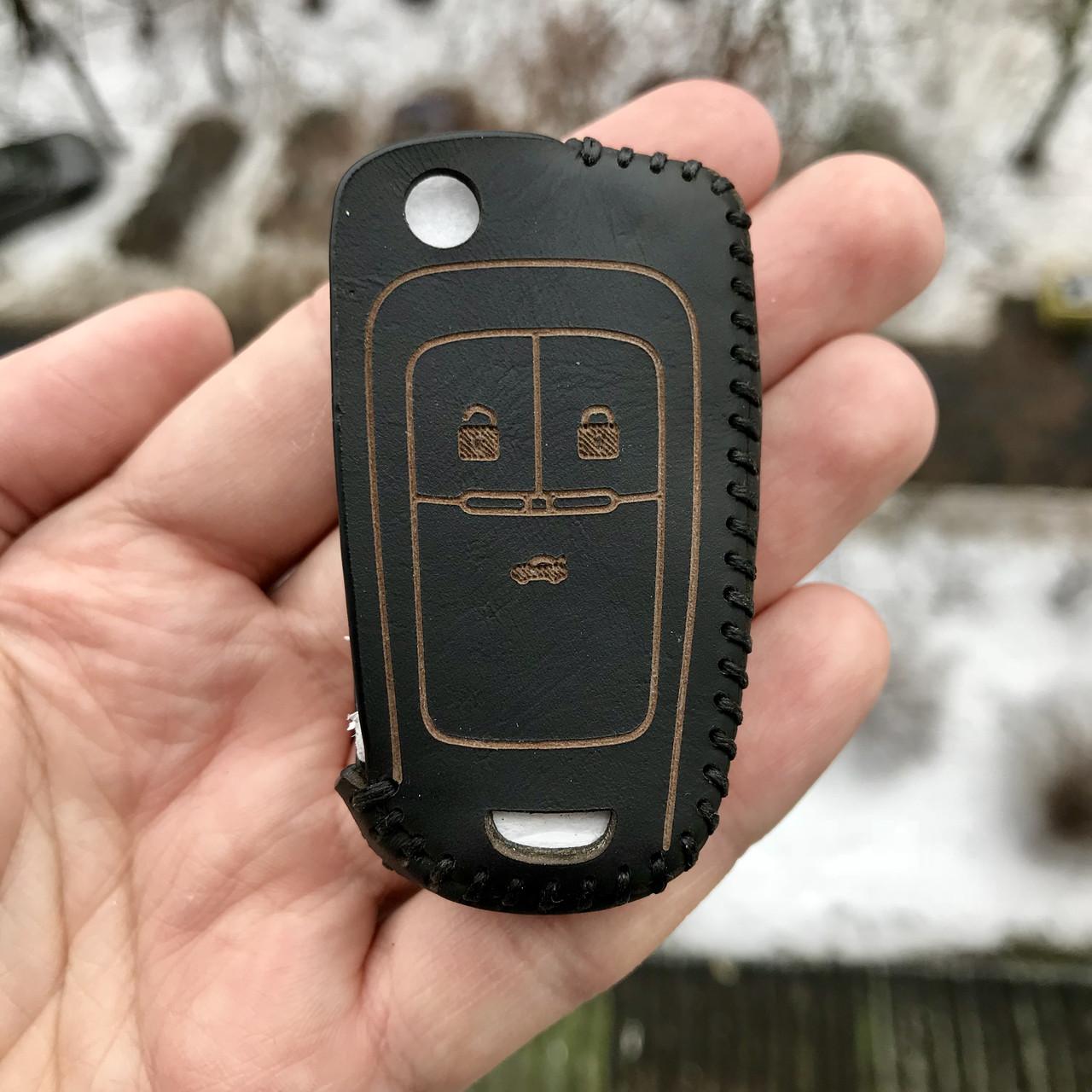 Кожаный чехол для ключа Chevrolet Aveo Cruze Orlando Captiva Tracker tahoe Malibu Volt Colorado Chevy Spar