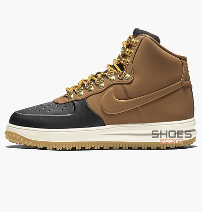 56636461 Мужские кроссовки Nike Lunar Force 1 Duckboot 18 Brown BQ7930-001,  оригинал, фото