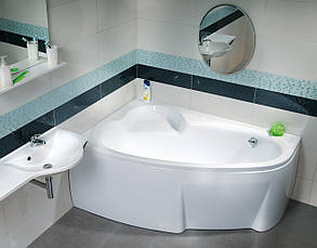 Ванна акриловая Ravak Asymmetric 150х100 левосторонняя, фото 2
