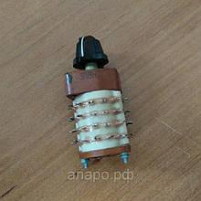 Поворотний перемикач П2Г3-3П8Н