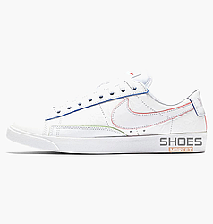 "Женские кроссовки Nike Wmns Blazer Lo W ""Triple White"" White AT5252-100, оригинал"