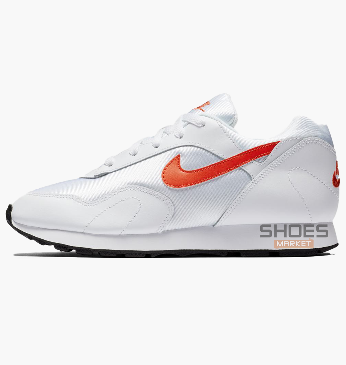 "Женские кроссовки Nike Wmns Outburst ""Team Orange"" White AO1069-106, оригинал"