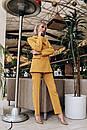 Брючный женский классический костюм с пиджаком 14kos948, фото 2