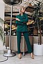 Брючный женский классический костюм с пиджаком 14kos948, фото 4