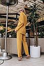 Брючный женский классический костюм с пиджаком 14kos948, фото 6