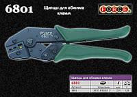 Клещи для обжима клемм (красный, зеленый, желтый) FORCE 6801