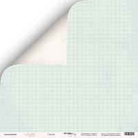 Скрапбумага Лист двусторонней бумаги 30x30 от Scrapmir Счастье из коллекции Little Bunny