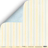Скрапбумага Лист двусторонней бумаги 30x30 от Scrapmir Карамель из коллекции Little Bear