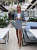Элегантный юбочный костюм из облегченного букле / 3 цвета арт 8396-613 , фото 4
