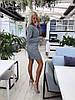 Элегантный юбочный костюм из облегченного букле / 3 цвета арт 8396-613 , фото 5