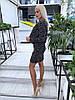 Элегантный юбочный костюм из облегченного букле / 3 цвета арт 8396-613 , фото 9