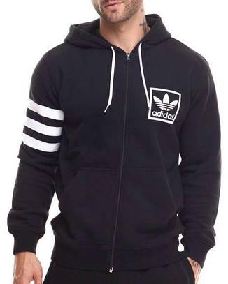 Мужская спортивная толстовка, худи, кофта Adidas DN19