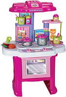 Игровая кухня Limo Toy 16641G с плитой и посудой (gr006512)