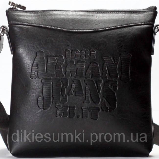 695668ace670 Мужская сумка на плечо в стиле Armani черного цвета в Интернет ...