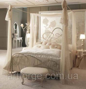 Кованные кровати. Кровать ИК 333