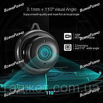 Wi-FI мини камера Digoo DG-MYQ 720P. IP camera, фото 3