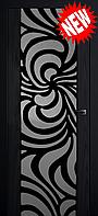 Межкомнатная дверь  ТМ Галерея дверей  Милано-2 ,  рис Зоэ, полотно остекленное