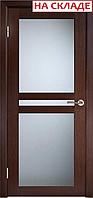 Межкомнатная дверь  ТМ Галерея дверей Берлин-Сити Венге , полотно остекленное