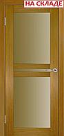 Межкомнатная дверь  ТМ Галерея дверей  Берлин-Сити Тик, полотно остекленное