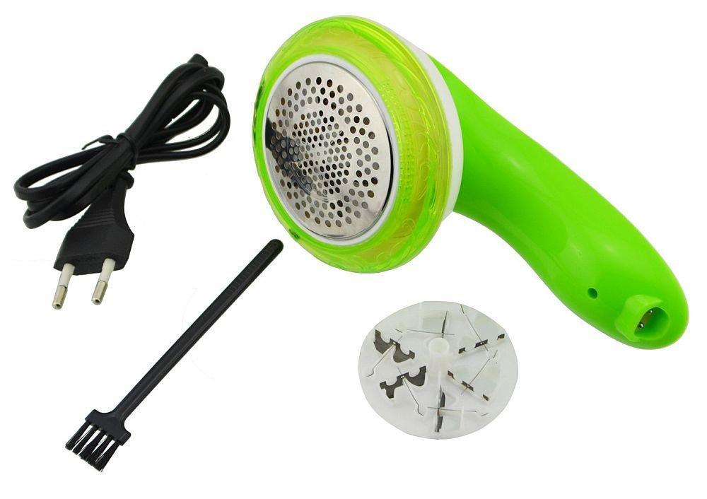 Аккумуляторная машинка для удаления катышков Gemei Gm-250, green