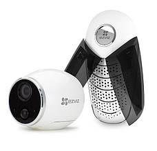 Wi-Fi камера на батарейках c базой EZVIZ CS-W2S-EUP-B1