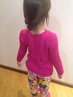 """Вязаный детский свитер """"Весна"""""""